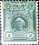 Stamps Peru -  Intercambio 0,20 usd 2 cent. 1909