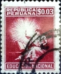 Stamps : America : Peru :  3 cent. 1950