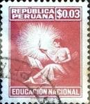 Stamps : America : Peru :  3 cent. 1961
