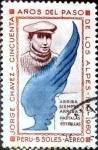 Stamps : America : Peru :  Intercambio 0,35 usd 5 soles 1964