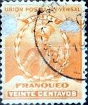 Sellos del Mundo : America : Perú : Intercambio 0,35 usd 20 cent. 1896