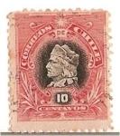 Sellos de America - Chile -  NAPOLEONES 10C.
