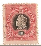 Stamps Chile -  NAPOLEONES 10C.