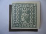 Stamps Austria -  Mercurio.