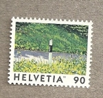 Stamps Switzerland -  Poste