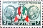 Sellos de America - Perú -  Intercambio 0,20 usd 2 soles 1962