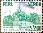 Stamps : America : Peru :  Intercambio 0,20 usd 2,60 soles 1967