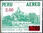 Sellos del Mundo : America : Perú : Intercambio 0,20 usd 2 sobre 2,6 soles 1977