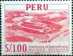 Sellos del Mundo : America : Perú : Intercambio 0,30 usd 1 sol 1966