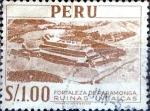 Stamps : America : Peru :  Intercambio 0,20 usd 1 sol 1952