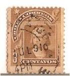 Stamps Chile -  Colon / NUEVO DISEÑO - SERIE DEL PESO BRONCE