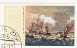 Sellos de Europa - Alemania -  pintura naval