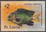 Sellos del Mundo : America : Santa_Lucia : Yellowtail