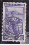 Stamps Italy -  pescador
