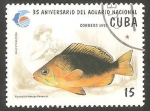 Sellos de America - Cuba -  35 Anivº del Acuario Nacional