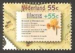Sellos de Europa - Holanda -  1306 - Exposicion filatelica internacional en La Haya, Poema y narciso