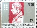 Sellos de America - Perú -  Intercambio dm1g3 0,45 usd 4,50 soles 1976