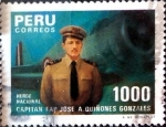 Sellos de America - Perú -  Intercambio cxrf 0,40 usd 1000 soles 1985