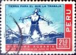 Sellos de America - Perú -  Intercambio dmg 0,20 usd 2,50 soles 1969