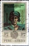Stamps : America : Peru :  3 soles 1970