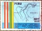 Stamps : America : Peru :  Intercambio 0,30 usd 10 soles 1976