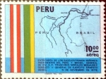 Stamps : America : Peru :  Intercambio 0,30 usd 10 soles 1976