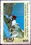Stamps : America : Peru :  Intercambio 0,45 usd 900 intis 1990