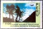 Stamps : America : Peru :  Intercambio 0,45 usd 1100 intis 1990