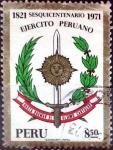 Stamps : America : Peru :  Intercambio crxf 0,20 usd 8,50 soles 1971