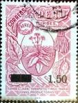 Sellos del Mundo : America : Perú : Intercambio 0,20 usd 1,50 sobre 3,60 soles 1976