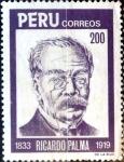 Sellos de America - Perú -  Intercambio 0,45 usd 200 soles 1984