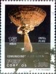Sellos de America - Perú -  Intercambio 0,35 usd 1100 soles 1985