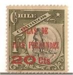 Stamps America - Chile -  Colon / ISLAS DE JUAN FERNANDEZ