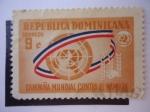 Stamps Dominican Republic -  Campaña Mundial Contra el Hambre.