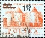 Sellos de Europa - Polonia -  Intercambio 0,20 usd 1,50 z. Sobre 60 g. 1972