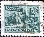 Sellos de Europa - Polonia -  Intercambio 0,20 usd 15 g. 1950