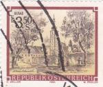 Sellos de Europa - Austria -  catedral de Geras
