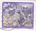 Sellos de Europa - Austria -  convento de Propstei St. Gerold