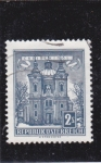 Sellos de Europa - Austria -  catedral