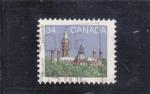 Stamps : America : Canada :  parlamento