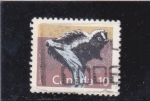 Stamps : America : Canada :  mapache