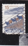 Stamps : America : Canada :  cabra montés