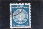 Stamps : Europe : Germany :  emblema