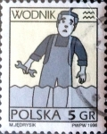 Stamps Poland -  Intercambio 0,20 usd 5 g. 1996