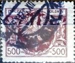 Sellos de Europa - Polonia -  Intercambio 0,20 usd 500 m. 1923