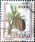 Sellos del Mundo : Europa : Polonia : Intercambio 0,75 usd 10000 z. 1993