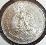 monedas de America - México -  1945 (Reverso)