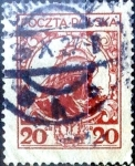 Sellos de Europa - Polonia -  Intercambio 0,20 usd 20 g. 1925