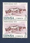 Sellos de Europa - España -  Hispanidad -  Fortaleza de Santa Teresa - Uruguay