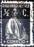 Sellos de Europa - Portugal -  Intercambio 0,25 usd 1/2 cent. 1912